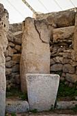 Mnajdra temple stones, Malta