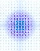 Quantum computing array, conceptual illustration