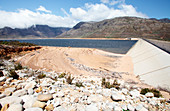 Berg river dam during drought