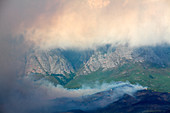 Wild fire, Hottentots-Holland Mountains