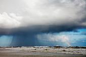 Winter rain storm