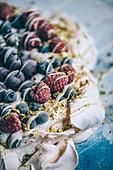 Frozen Berry Meringue