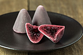 Cuberdon (cone shaped Belgian raspberry sweets)