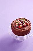 Chocolate and Ricotta Layer Cake