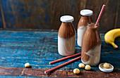 Macadamia-Schoko-Smoothie mit Banane