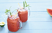 Watermelon and tarragon lemonade