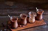 Chocolate and coffee melange