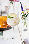 The Hugo - Prosecco with elderflower syrup and mint