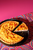 Quiche Lorraine (trend from the 1960s)
