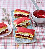 Dutch cherry slices
