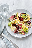 Pickled beetroot and apple salad (Scandinavia)