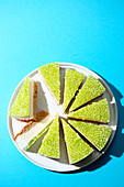 Green apple cake (trend from the 2000s)