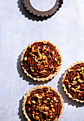 Nut tartlets (trend from the 2010s)