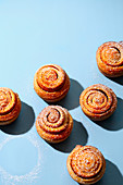 Cinnamon and apple cruffins (trend from the 2010s)