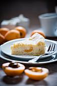 Medlar curd cake (vegan)