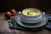 Potato and vegetable soup (vegan)