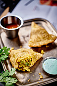 Indian samosas to take away