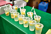 Lynchburg lemonade in cups to take away