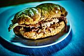Bifana (portugiesisches Schnitzel-Sandwich)