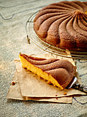 Sweet potato and orange cake