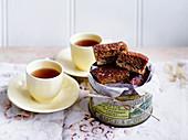 Anzac-Schnitten zum Tee