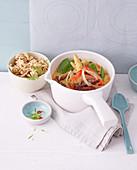 Kalorienarmes Thai-Curry mit Rindfleisch