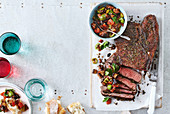 Balsamic-Glazed Steak