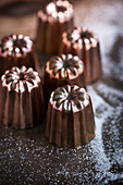 Canneles baking moulds