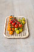 Tomaten in verschiedenen Farben
