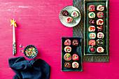 Sweet sushi cakes