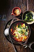 One-pot lasagne soup