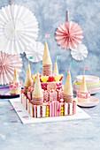 Princess palace cake