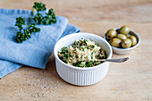 Olive dip with herbs