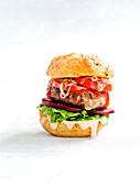 Potato cheeseburger