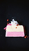Redskin ice-cream cake