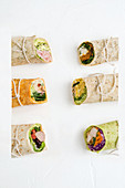 Six wrap variations