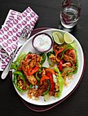 Schneller Fajita-Salat