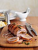 Roast pork, sliced