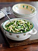 Pasta Primavera with asparagus