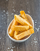 Twice fried chunky chips with sea salt