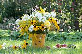 Gelb - weißer Sommerstrauß
