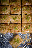 A Tray of Baklava