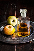 Calvados with two apples