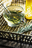Rosemary tea with honey