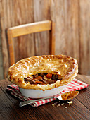 Steak and ale pie (England)