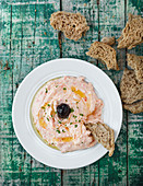 Taramasalata (fish roe cream, Greek)