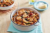 Garlic Prawn Pasta