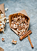 Popcorn with cinnamon