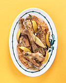 Lemon chicken with rosemary