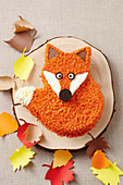Fox cake for Autumn